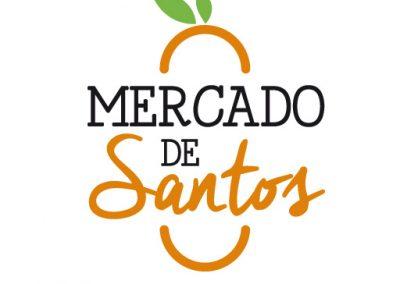 Logotipo Mercado de Santos