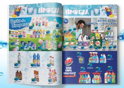Folhetos Unimark - Festa da Limpeza