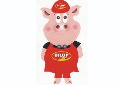 Mascote Dilop